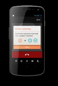 Tawkon app alert